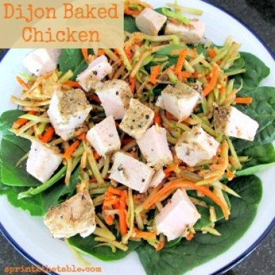 Easy Dijon Baked Chicken