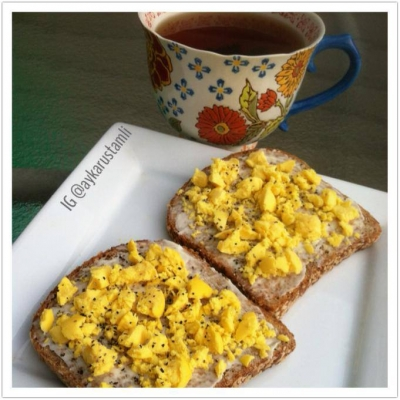 Egg and Cheese Toast