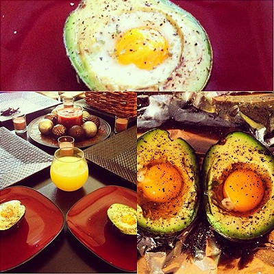 Egg Baked In Avocado