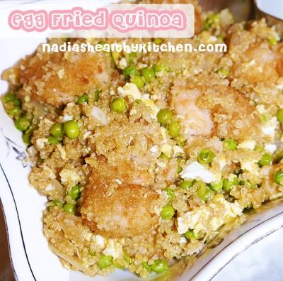 Egg Fried Quinoa