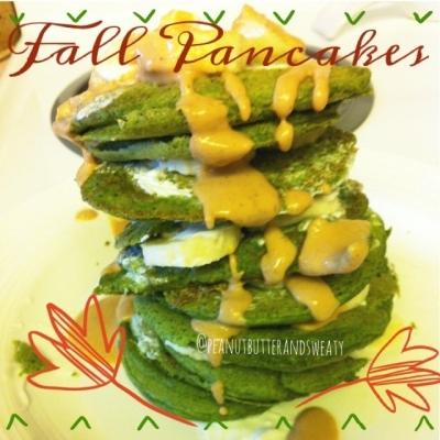 Fall Protein Pancakes