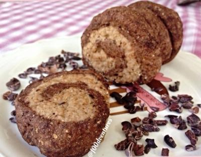 Five Minute Chocolate Swirl Pinwheel Donuts