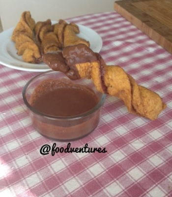 Five Minute Cinnamon Twists/Churros
