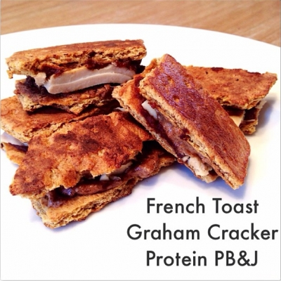 French Toast Graham Cracker Protein Pb&J