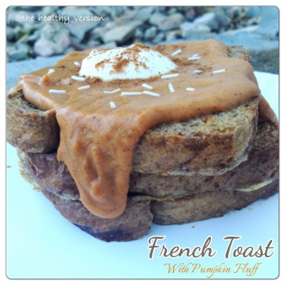 French Toast With Pumpkin Fluff