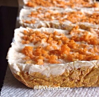 Frozen Carrot Cake Bars