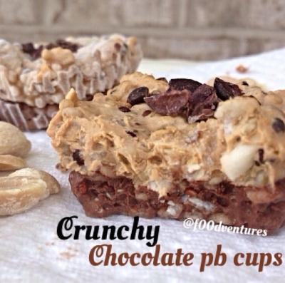 Frozen Crunchy Chocolate Pb Cups