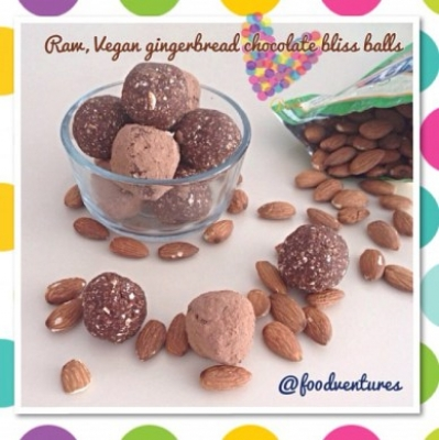 Gingerbread Chocolate Bliss Bites