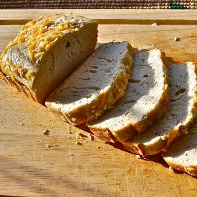 Glarlic Parm Protein Bread Loaf