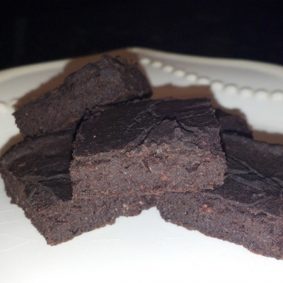 Gluten Free Black Bean Brownie Bites