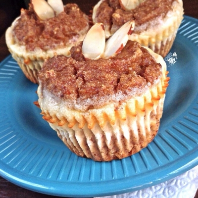 Goat Cheese & Cinnamon Almond Muffins