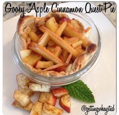 Gooey Apple Cinnamon Quest Pie