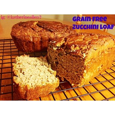 Grain Free Zucchini Loaf