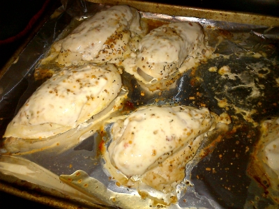 Spicy Greek Chicken Breasts