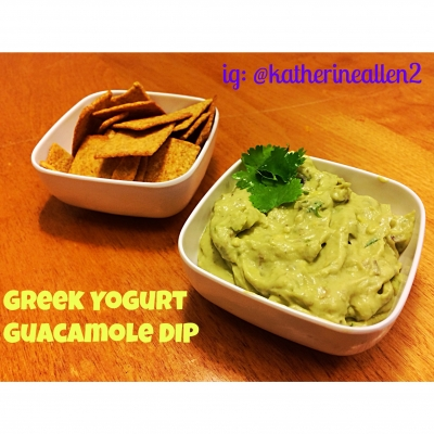 Greek Yogurt Guacamole Dip