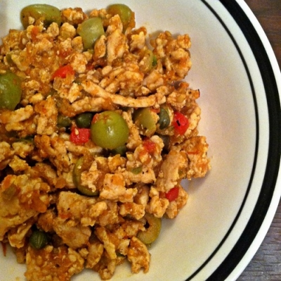 Ground Turkey Picadillo