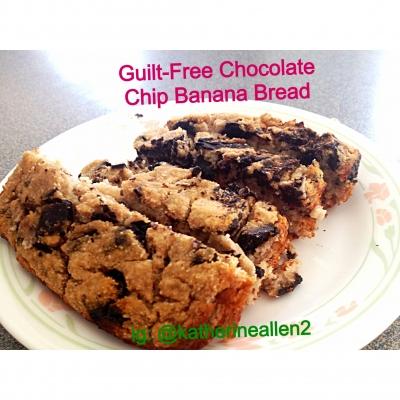 Guilt-Free Chocolate Chip Banana Bread
