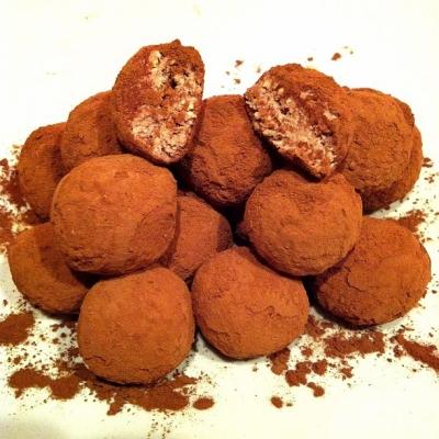 Guilt Free Oat Quark Fudge Balls