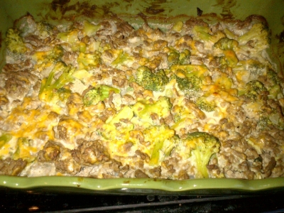 Hamburger and Broccoli Casserole