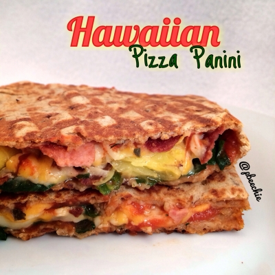 Hawaiian Pizza Panini