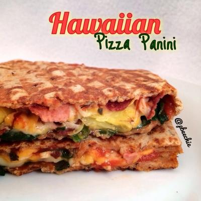 Hawaiian Pizza Panini