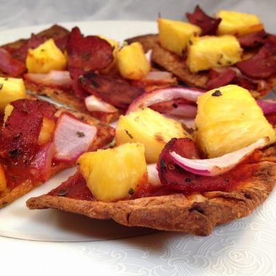 Hawaiin Style Pizza