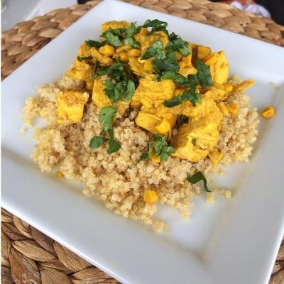 Healthy Days Chicken Curry.