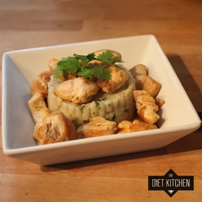 Healthy Thai Green Chicken Curry