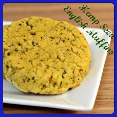 Hemp Seed English Muffins