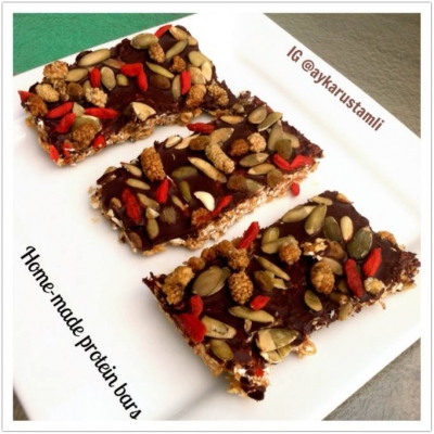 Home Made Protein Bars