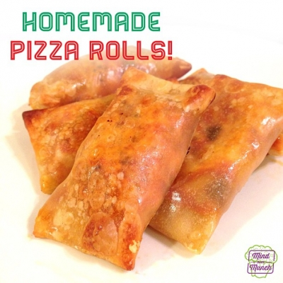 Ripped Recipes - Homemade Pizza Rolls