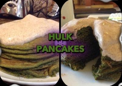 Hulk Protein Pancakes