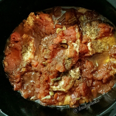 Italian Style Crockpot Porkchops and Potatoes