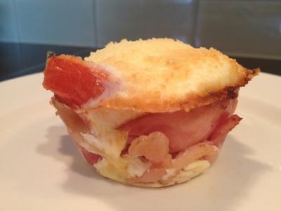 Keto Bacon Breakfast Cups