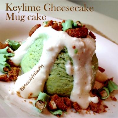 Keylime Cheesecake Mugcake