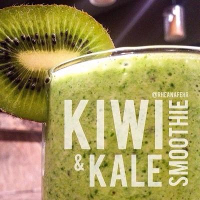 Kiwi & Kale Smoothie