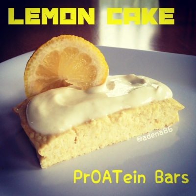 Lemon Cake Proatein Bars