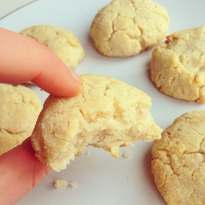 Lemon Coconut Cookies!