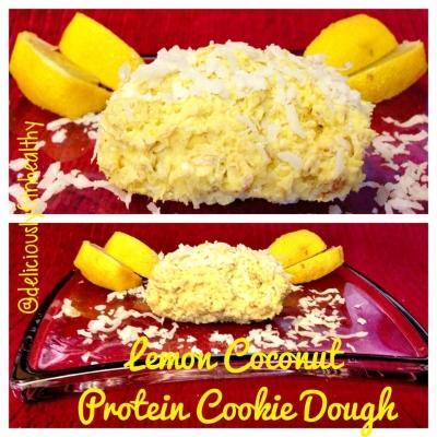 Lemon Coconut Protein Cookie Dough
