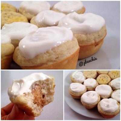 Lemon Cream Pie Mini Muffins