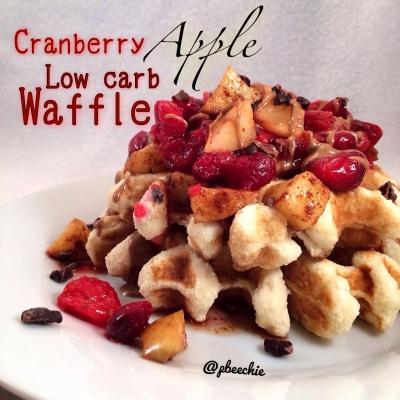 Low Carb Paleo Waffle
