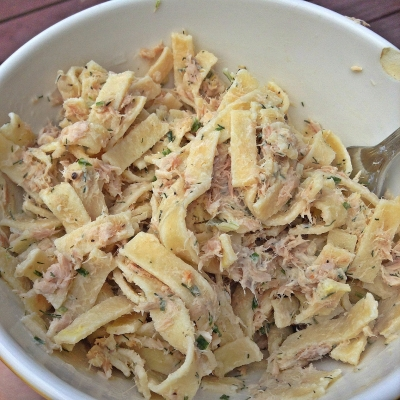 Low Carb Tuna Pasta Salad