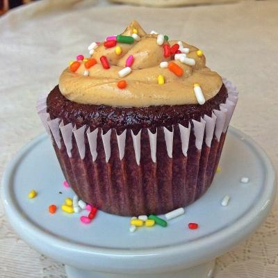 Macro Friendly Chocolate Cupcake