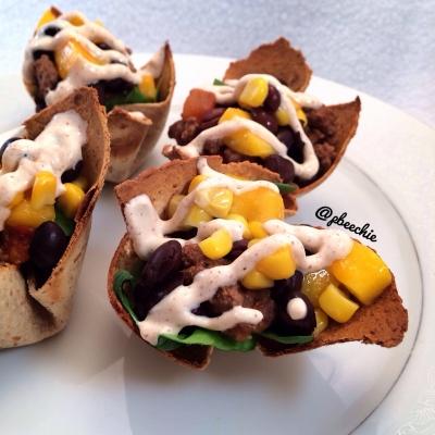 Mango Lime Chipotle Taco Bowls