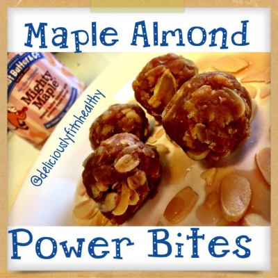 Maple Almond Pb Power Bites