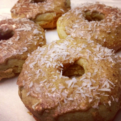 Maple Frosted Doughnuts