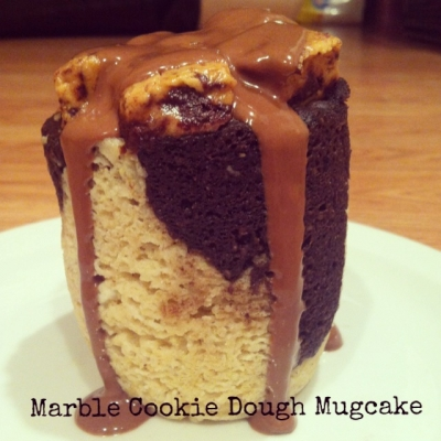 Marble Cookie Dough Mugcake