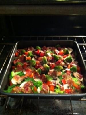 Meatzza (Paleo Pizza)