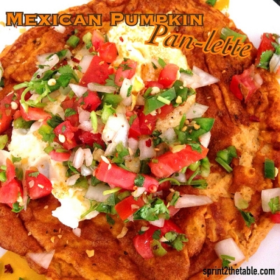 Mexican Pumpkin Pan-Lette
