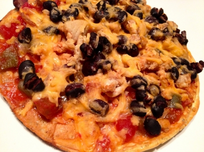 Mexican Style Clean Pizza